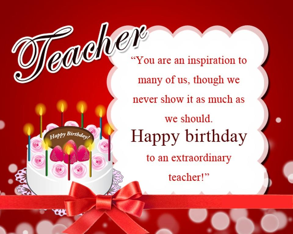 happy birthday letter to a teacher birthday wishes to wishes greetings pictures 16142